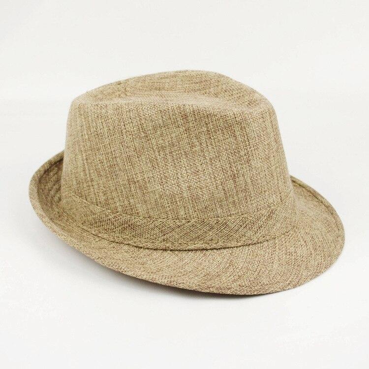 2018 Brand New Fashion Floppy Jazz Hat Pure Men Women's Large Brim Caps England  image 6