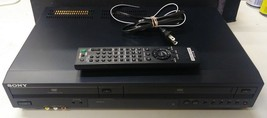 Sony SLV-D281P Progressive Scan DVD VCR Combo Player - $46.40