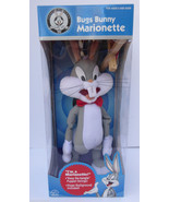 "WARNER BROTHERS LOONEY TUNES APPLAUSE BUGS BUNNY 18"" PLUSH MARIONETTE PU... - £26.81 GBP"