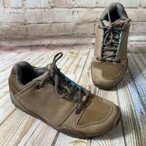 KURU Size 6 KRUZR II Brown Leather Walking Trail Hiking Shoes Oxfords Co... - $66.49