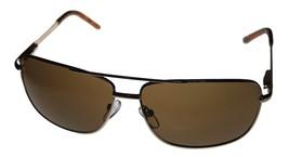 Kenneth Cole Reaction Mens Sunglass Gold / Brown Metal Aviator KC1076 772 - $17.99