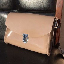 Cambridge Push Lock Patent Leather Crossbody - $85.50