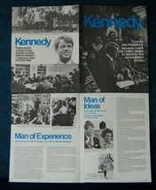 1968 RFK  Robert F. Kennedy For President - 4 Pg.Flier - San Francisco HQ - $7.65