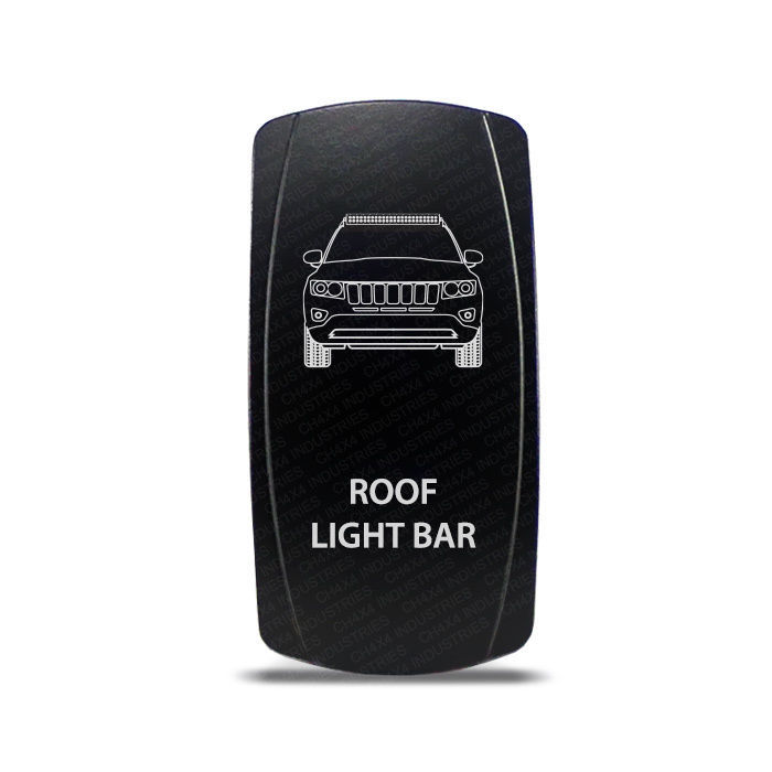 Primary image for CH4X4 Rocker Switch Jeep Grand Cherokee WK1 Roof Light Bar Symbol - Red  LED