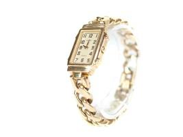 Auth ORIENT Jupiter Gold Plated & Stainless Steel Quartz Women's Watch OW6683L - $129.00