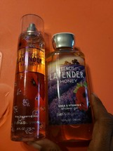 Bath & Body Works French Lavender & Honey Fine Fragrance Mist & Shower Gel - $17.82