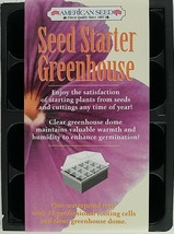Seed Starter Greenhouses w Clear Dome 12 Cell Pots - $2.96