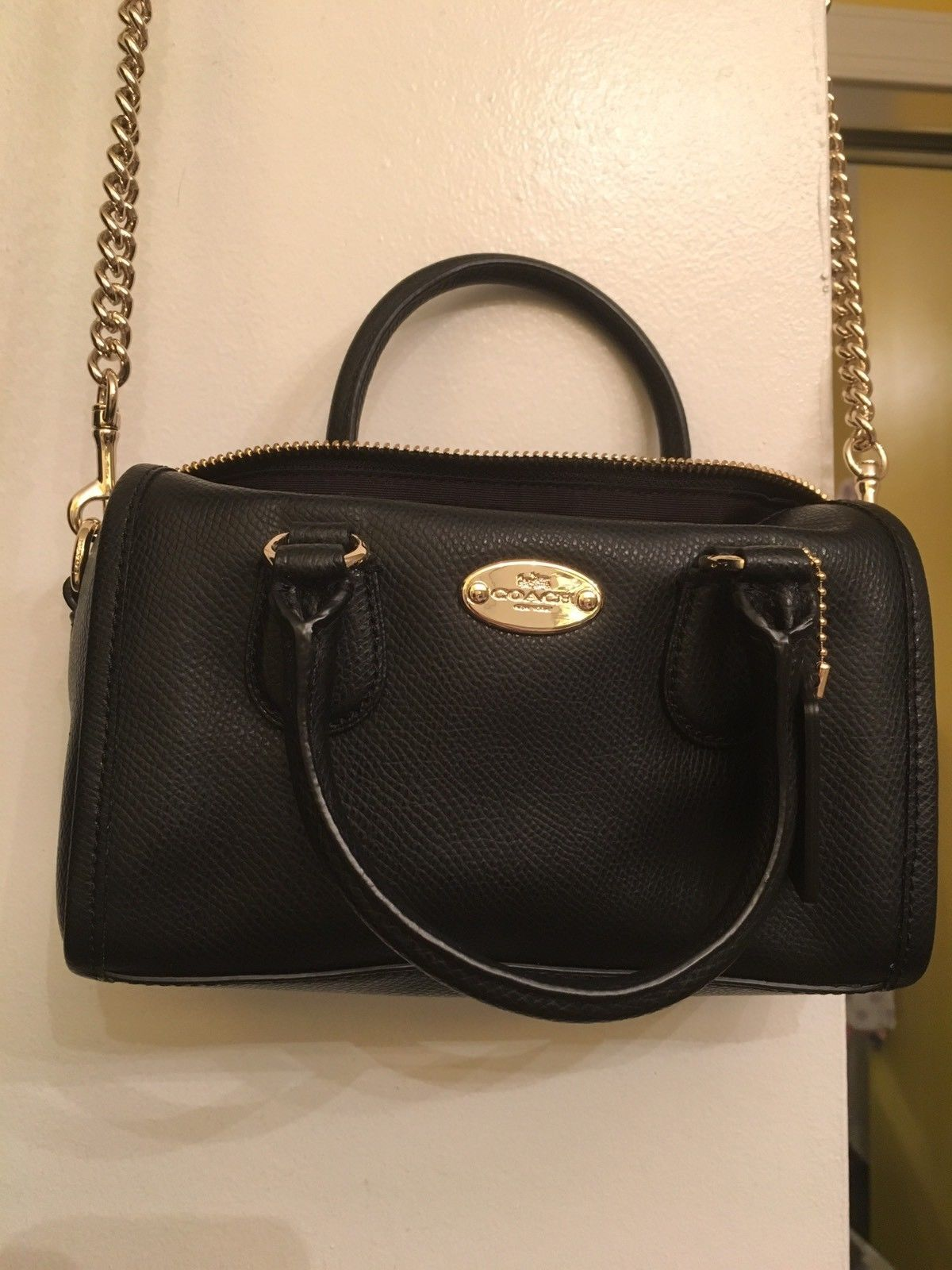 159f01e05 NWT Coach F34641 Baby Bennett Satchel In and 50 similar items