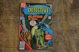 Detective Comics #478 (Jul-Aug 1978, DC) Batman 1st Clayface VF+  - $18.29