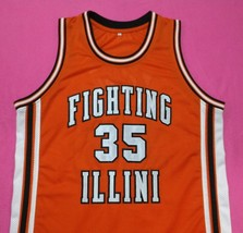 Stephen Bardo Fighting Illini Away College Jersey Any Size Free Wwjd Bracelet - $29.99