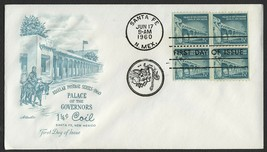 #1054A 1 1/4c Palace of the Governors, Artmaster-Add FDC **ANY 4=FREE SH... - $1.00