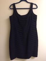 Anne Klein Black Sleeveless Dress 50610 Size 16 - $16.79