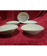 """Portmeirion Sophie Conran Biscuit 7 1/4"""" Coupe Cereal Bowl Set of 2 - $58.41"""