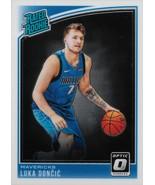 Luka Doncic Donruss Optic 2018-2019 #177 Rookie Card Dallas Mavericks - $125.00