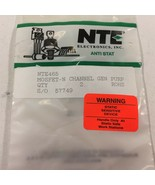 (2) NTE465 Silicon N−Ch MOSFET Transistors - Lot of 2 - $9.99