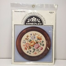 Tapestry in Bloom 1 Cross Stitch Kit Astor Place Flowers - $24.18