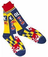 Officially Licensed Old Bay Seafood Seasoning Can Design Dress Socks (La... - $14.80