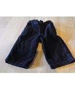 Infant Size 3-6 Months Gymboree Solid Black Corduroy Dress Pants EUC - $12.00