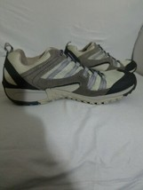 Merrell Hiking Shoes Size 9 Women's Pewter Peppermint Air Cushioned Trai... - $31.18