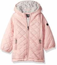 Steve Madden Baby Girls Fashion Glacier Shield Jacket, Blush, 12M - $52.93