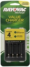 Rayovac 4 Position Value Charger, AA/AAA, PS133 - $9.67