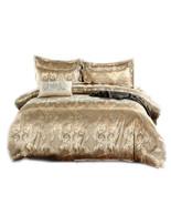 Jacquard Luxury Bedding Sets Queen King Size Duvet Cover Set Bedclothes ... - $53.99+