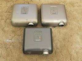 Sharp PG-MB56, XR-10X-L, XR-10X Dlp Projectors For Parts Or Repair Lot Of 3 - $89.05