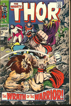 THOR #152  SILVER AGE JACK KIRBY STAN LEE Marvel Comics 1968 - $44.55