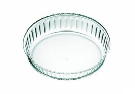 Simax Clear Glass Fluted Cake Dish, Deep | Heat, Cold and Shock Proof, M... - $24.70