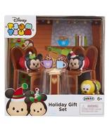 Disney Tsum Tsum Holiday Mickey & Minnie Gift Set Officially Licensed NIB/Sealed - $8.99