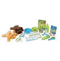 Melissa & Doug Feeding & Grooming Pet Care Play Set with 2 Plush Animals (24 pie - $28.20