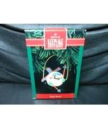 "Hallmark Keepsake ""Skiing 'Round"" 1992 Ornament NEW - $1.68"