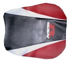 Suzuki GSXR 1000 05/06 Sport Vinyl Motorcycle Seat Cover CF Black/Pearl/Red - $40.00
