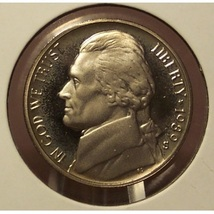 1989-S DCAM Proof Jefferson Nickel #0533 - $1.59