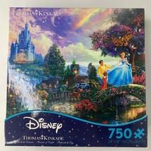 Sealed Disney Thomas Kinkade Cinderella Castle 750 pc Puzzle New FREE SHIP - $39.95