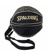 SPALDING basketball case ball bag monogram gold 49-001MG from Japan - $70.13