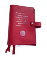 Triple 6th Edition NA Narcotics Anonymous Book Cover Serenity Prayer Red - $37.34