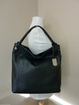 NWT Furla Onyx/Black Pebbled Leather NS Nerin Tote Bag $428 - NO RESERVE... - $324.72