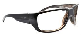 Maui Jim MJ-235-02B Seawall Sunglasses Black Woodgrain BROKEN FOR PARTS ... - $29.80