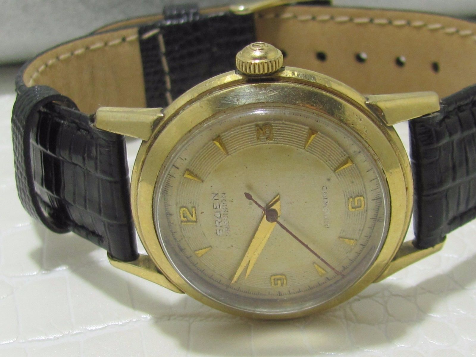 gruen automatic precision vintage watch swiss 460ss 17. Black Bedroom Furniture Sets. Home Design Ideas