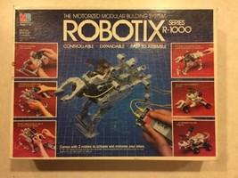 Vintage 1984 Robotix Series R1000 Building System Parts & PIeces LOT - $30.00