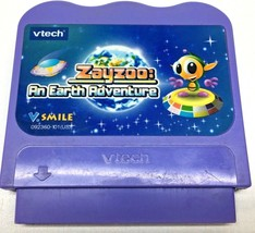 Vtech VSmile Zayzoo An Earth Adventure Game Cartridge Learning Content Game - $4.74