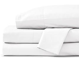 Grund Savannah 100% Organic Cotton Luxury, Full set, White, 4 piece Set 2 pillow