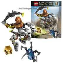 "NEW 2015 LEGO Bionicle Series 7 "" Tall Figure Set #70785 POHATU MASTER O... - $49.99"