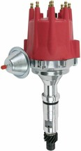 Pro Series R2R Distributor for Buick Nailhead, V8 Engine Red Cap