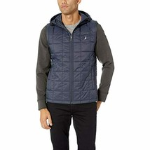 Nautica Men's Lightweight Down Quilted Jacket with Detachable Sleeve (Na... - $57.23