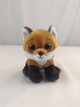 "2016 Ty Beanie Baby Boos 7"" Slick The Fox Stuffed Plush Animal Toy - $3.99"