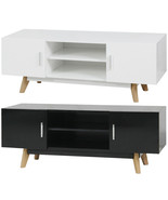 "vidaXL TV Stand 47.2"" Cabinet Unit Entertainment Media Center Glossy Whi... - $140.99+"