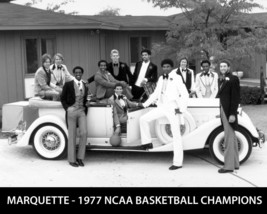 1977 Marquette Golden Eagles 8X10 Team Photo Picture Basketball Ncaa Champs - $3.95