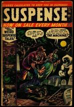 Suspense #15 1952- Atlas Horror- Graveyard cover- Ogden Whitney FR/G - $60.84
